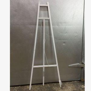 "Easel Wood 60"" White"