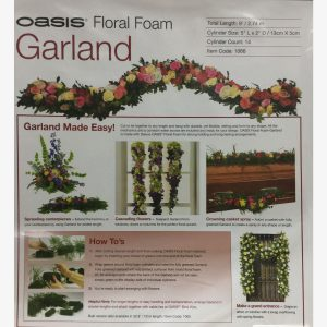 Oasis Garland Netted 9ft