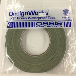 "Tape 1/2"" Green Waterproof"